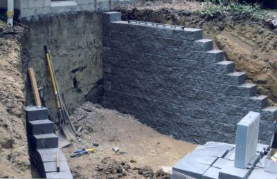 Welcome for Walkout basement retaining walls